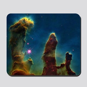 Gas pillars in the Eagle Nebula Mousepad
