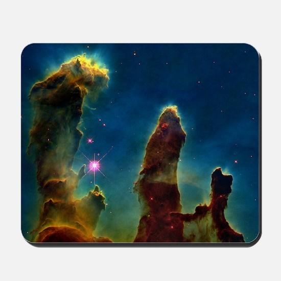 Gas pillars in the Eagle Nebula Mousepad