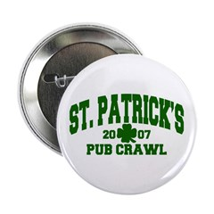 St. Patrick's Pub Crawl Button