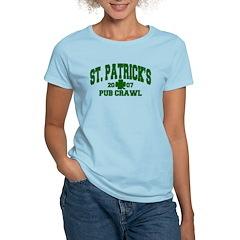 St. Patrick's Pub Crawl Women's Light T-Shirt