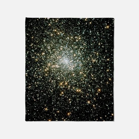 Globular cluster M15 Throw Blanket
