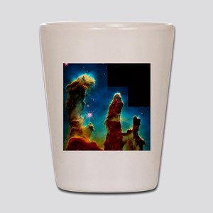Gas pillars in Eagle Nebula Shot Glass