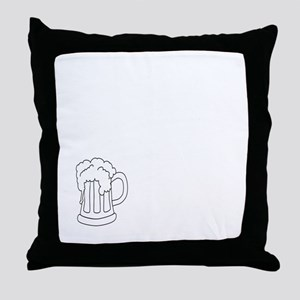 Hashing 101 - Down Down Throw Pillow