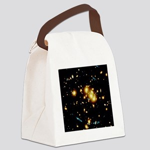 Gravitational lensing by a galact Canvas Lunch Bag