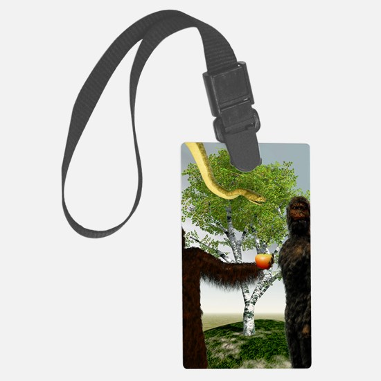 Garden of Eden, computer artwork Luggage Tag