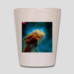 Gas pillars in the Eagle Nebula Shot Glass