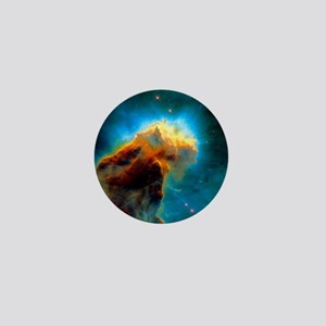 Gas pillars in the Eagle Nebula Mini Button