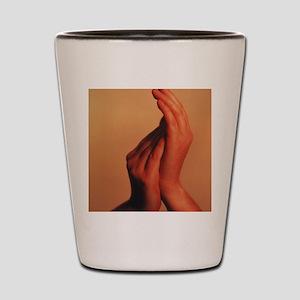 Hands Shot Glass
