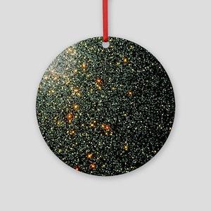 Globular cluster 47 Tucanae Round Ornament