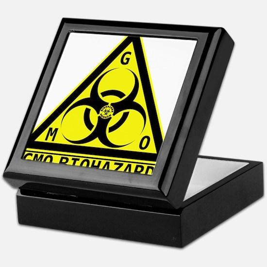 GMO Biohazard Keepsake Box