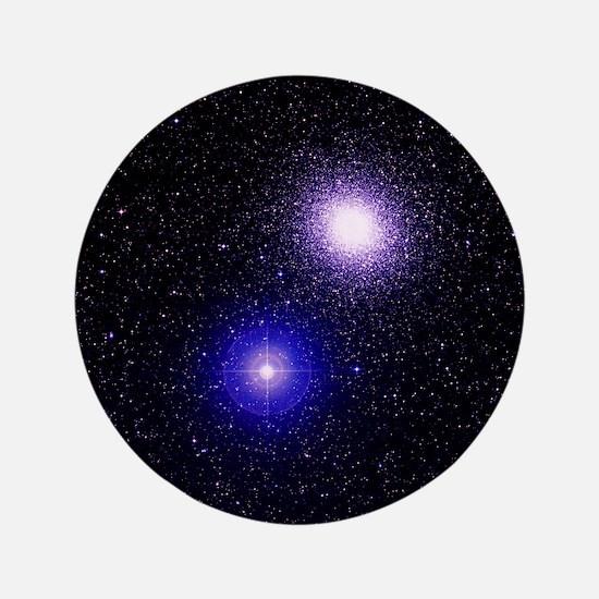 "Globular cluster M5 3.5"" Button"
