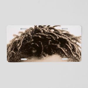Hair Aluminum License Plate