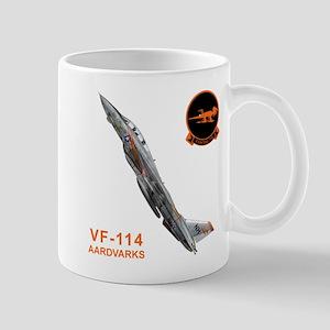 F-14 Tomcat VF-114 Aardvarks Mug