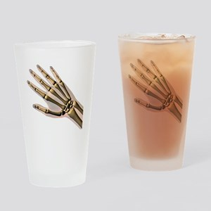 Hand bones Drinking Glass