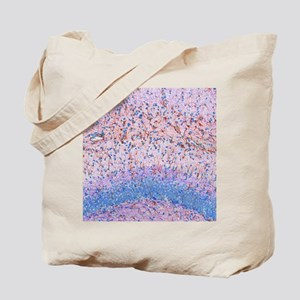Hippocampus brain tissue Tote Bag