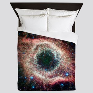 Helix nebula, infrared Spitzer image Queen Duvet