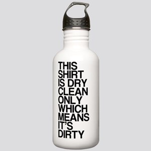 Dirty Shirt, Funny, Stainless Water Bottle 1.0L