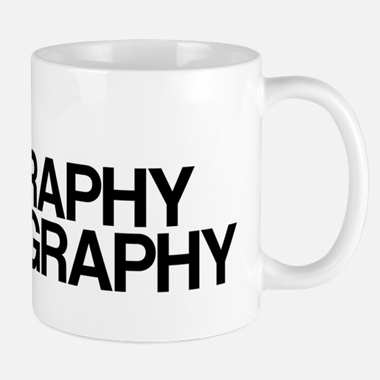 Typography Pornography Mug