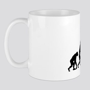 Evolved To Ball - Basketball Mug