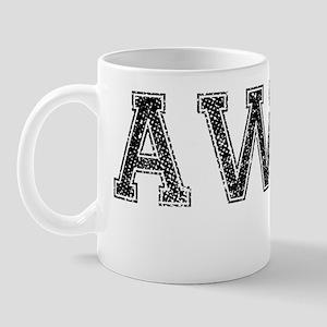 AWRY, Vintage Mug