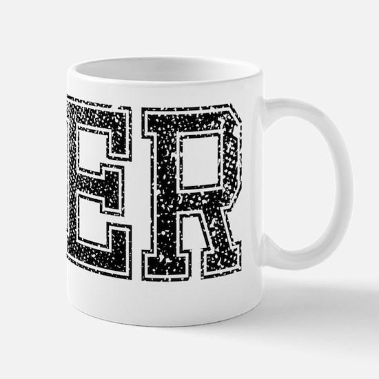 BEER, Vintage Mug