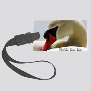 Swan Calendar Cover Large Luggage Tag
