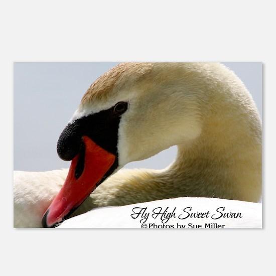 Swan Calendar Cover Postcards (Package of 8)
