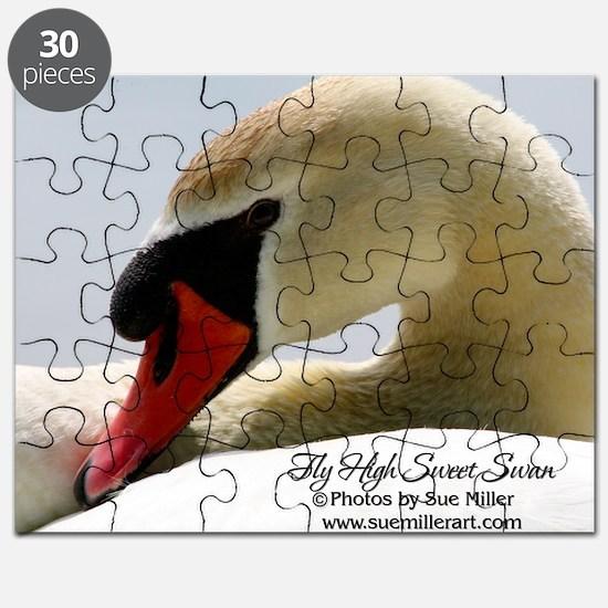 Swan Calendar Cover Puzzle