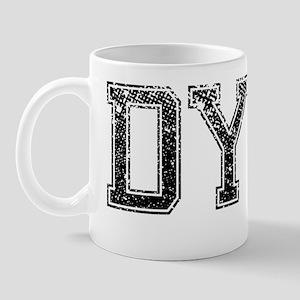 DYKE, Vintage Mug