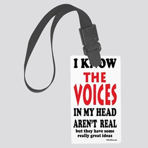 VoicesSigg6x3 Large Luggage Tag