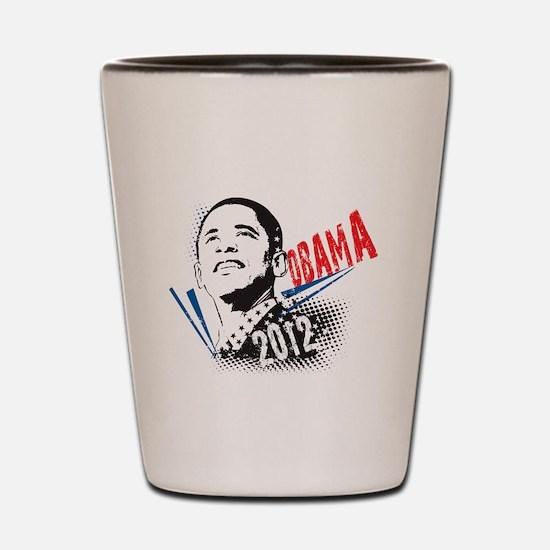 PRESIDENT BARACK OBAMA 2012 Shot Glass