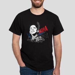 PRESIDENT BARACK OBAMA 2012 Dark T-Shirt