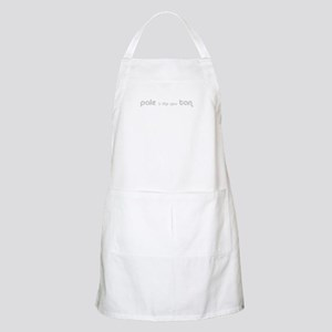 Pale is the new Tan BBQ Apron