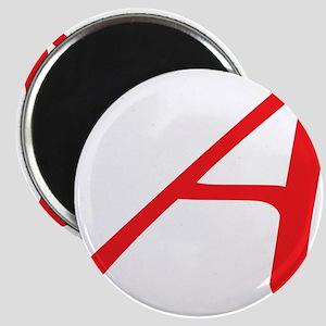 Atheism Scarlet Letter A Symbol Magnet