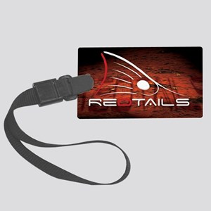 Redtails Lic Large Luggage Tag
