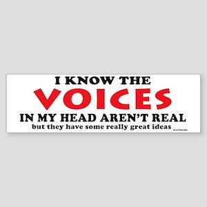 VoicesPetBowl Sticker (Bumper)