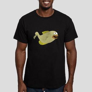 Crappie Diem (Fishy ve Men's Fitted T-Shirt (dark)