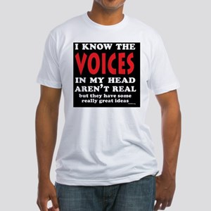VoicesShoulderbag Fitted T-Shirt