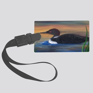 Loon Lake Large Luggage Tag