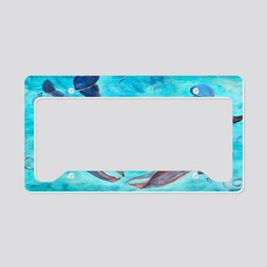Blue Crab License Plate Holder