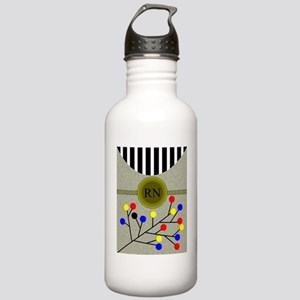 RN abstract cell phone Stainless Water Bottle 1.0L
