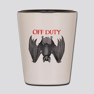 Off Duty Vampire Shot Glass