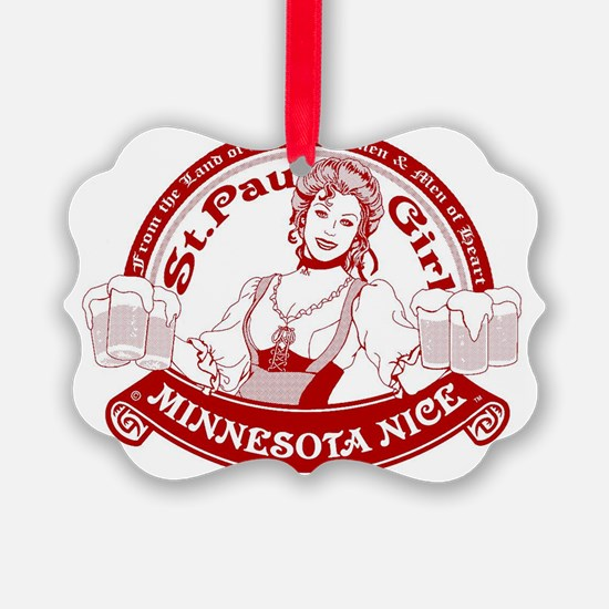 Minnesota Nice st paul girl Ornament