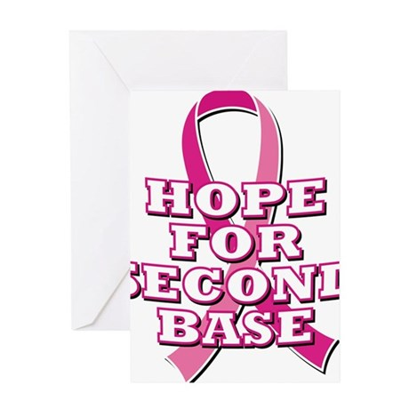 Hope For 2nd Base Greeting Card