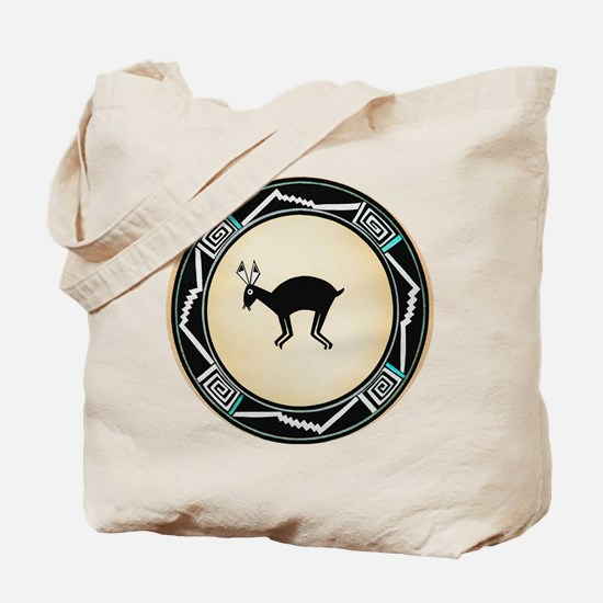 MIMBRES BLACK JACK RABBIT BOWL Tote Bag