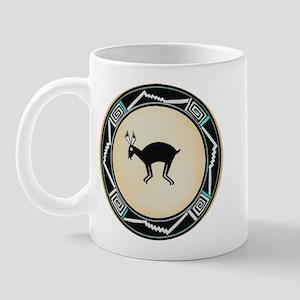 MIMBRES BLACK JACK RABBIT BOWL Mug