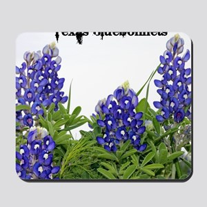 Texas Bluebonnets Mousepad