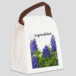 Texas Bluebonnets Canvas Lunch Bag