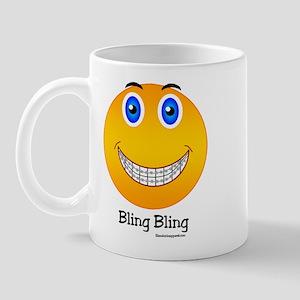 Bling Bling Smiley Mug