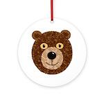 Teddy Bear Party Ornament (Round)